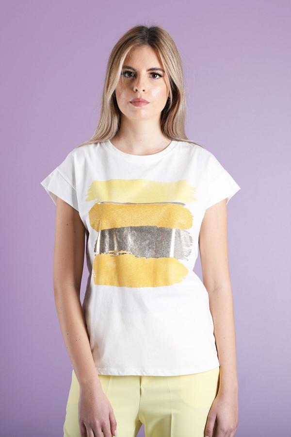Yellow T-Shirt Painting