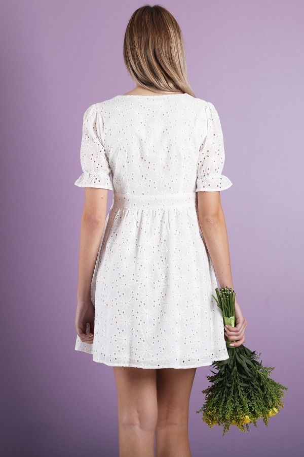 White Elie Dress