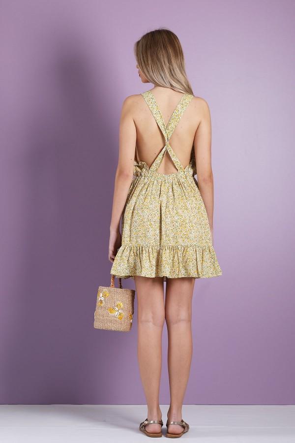 Yellow Adam Dress