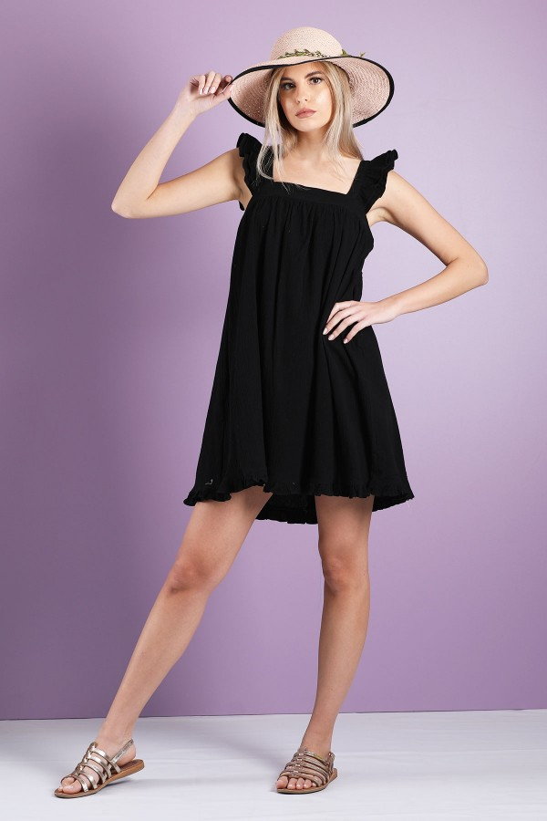 Black Carline Dress