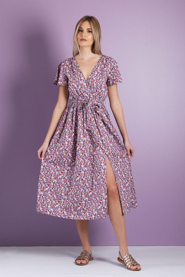 Blue Irene Dress