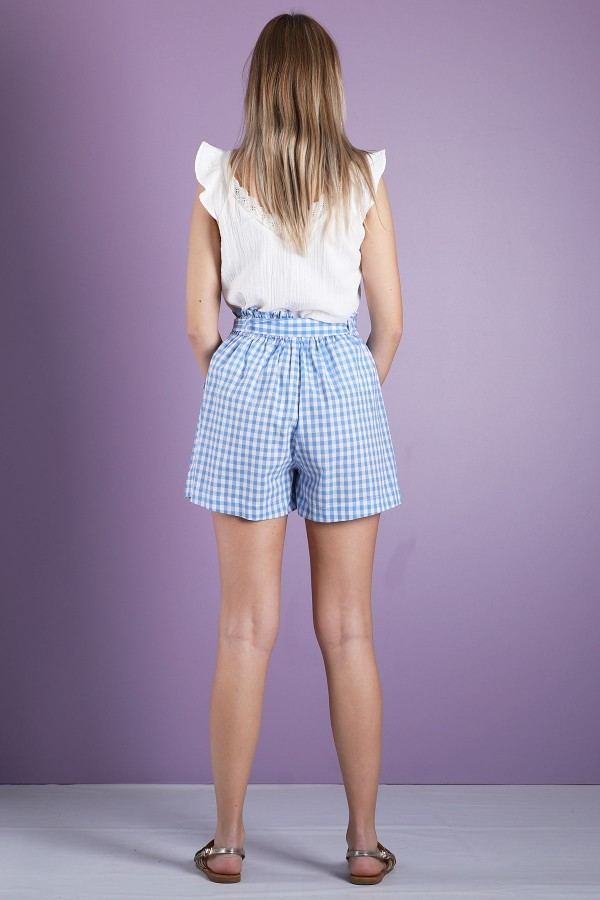 Blue Clarence Short
