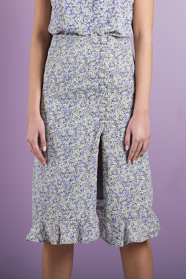 Blue Vanessa Skirt