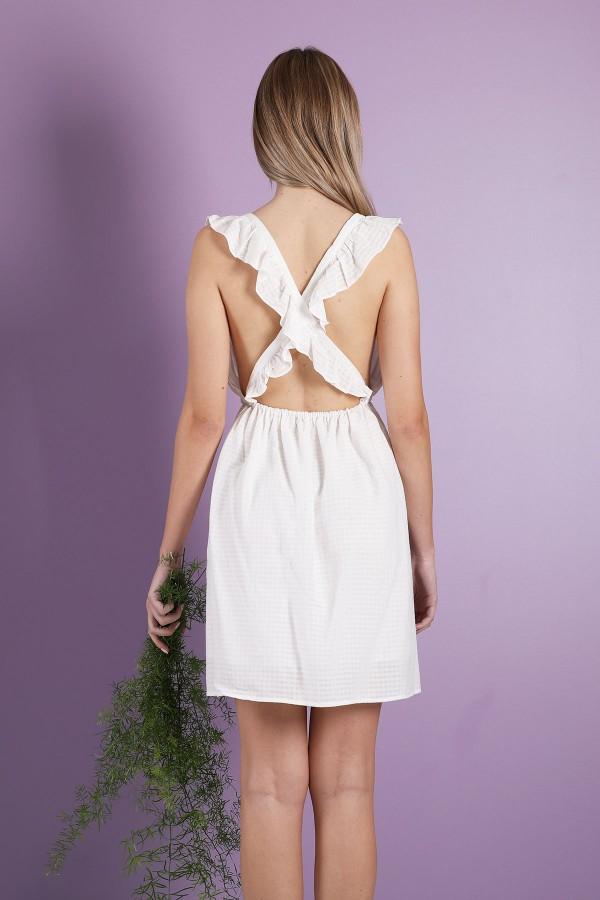 White Jasmine Dress
