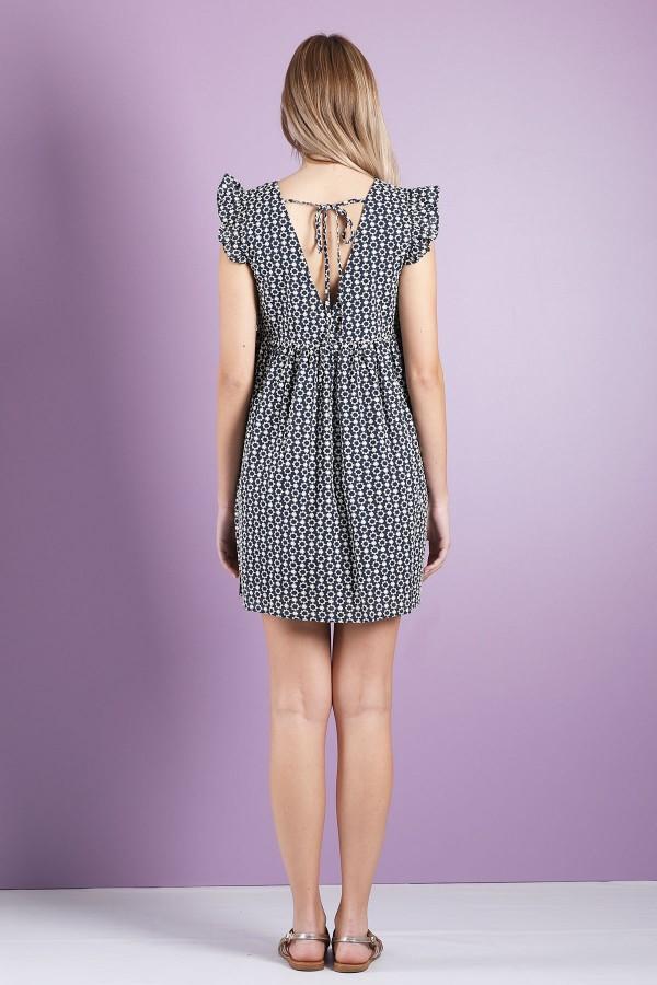 Blue Marise Dress