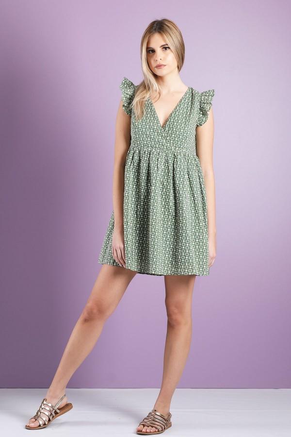 Green Marise Dress