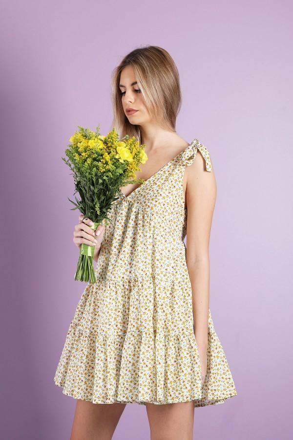 Yellow Nonna Dress