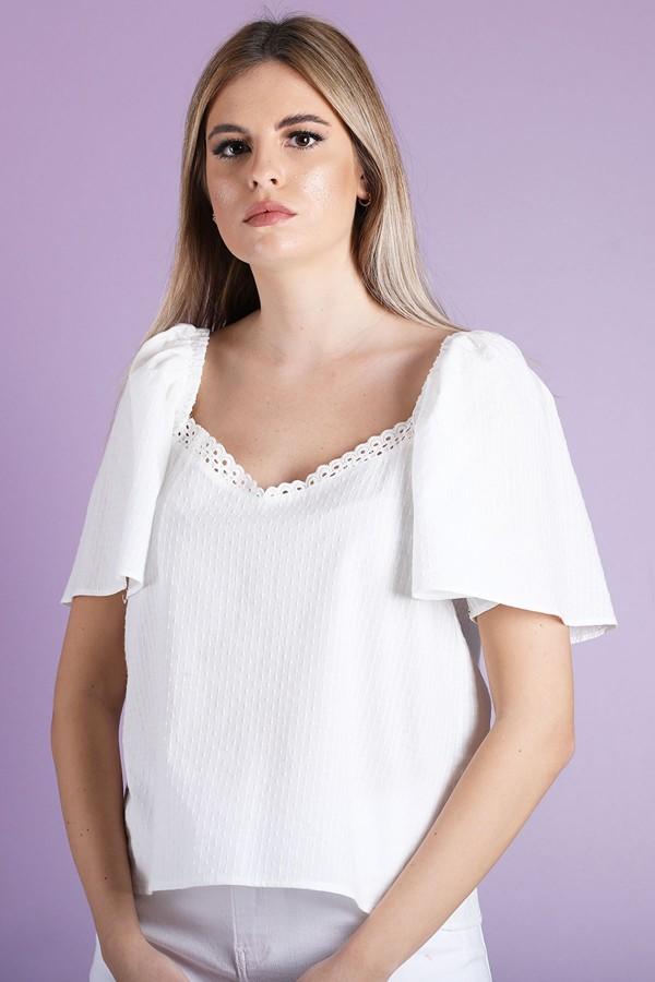 White Maria Top