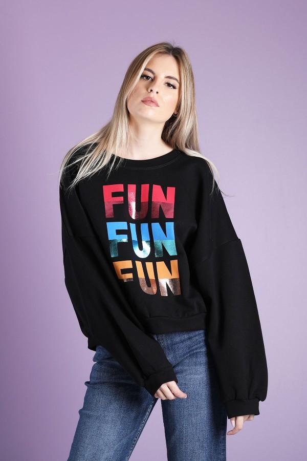 Sweatshirt Fun Fun Fun