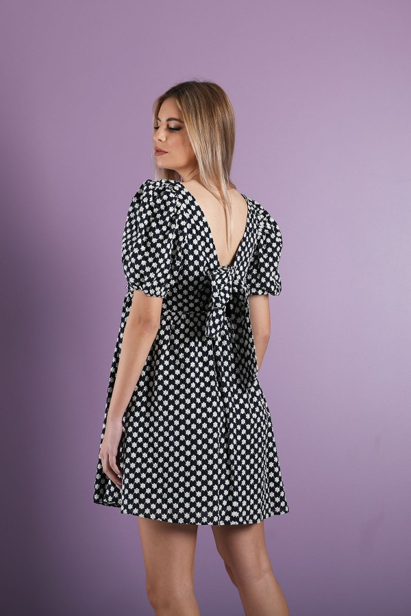 Navy Blue Ismael Dress