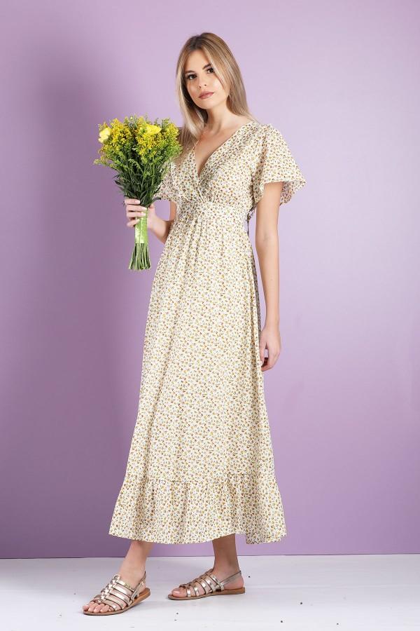 Yellow Vitalie Dress