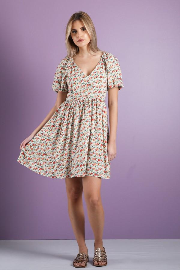 White Felicite Dress