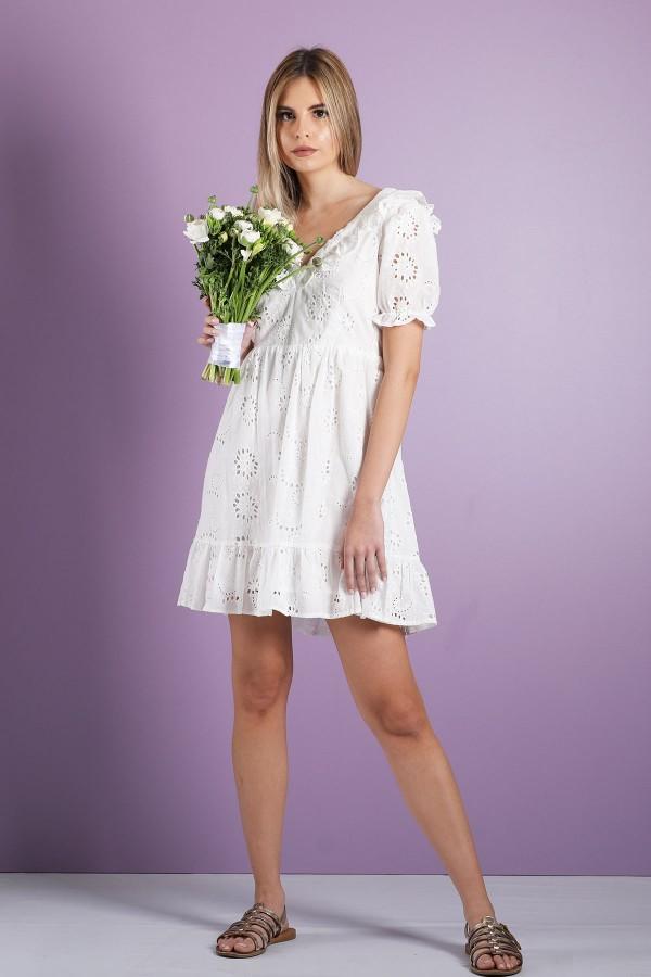 White Ondine Dress