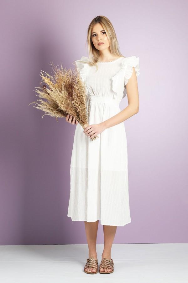 White Dave Dress