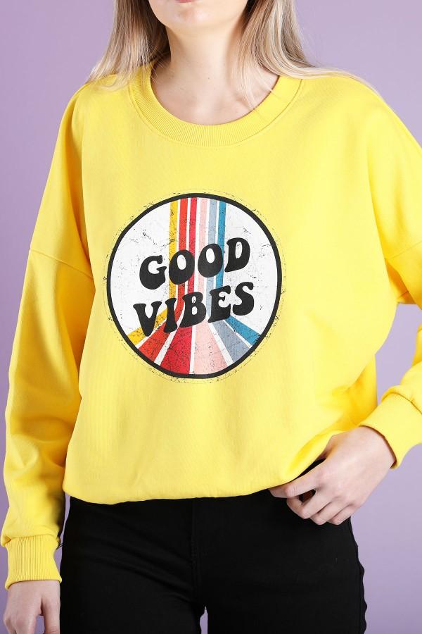 Sweatshirt Good Vibes