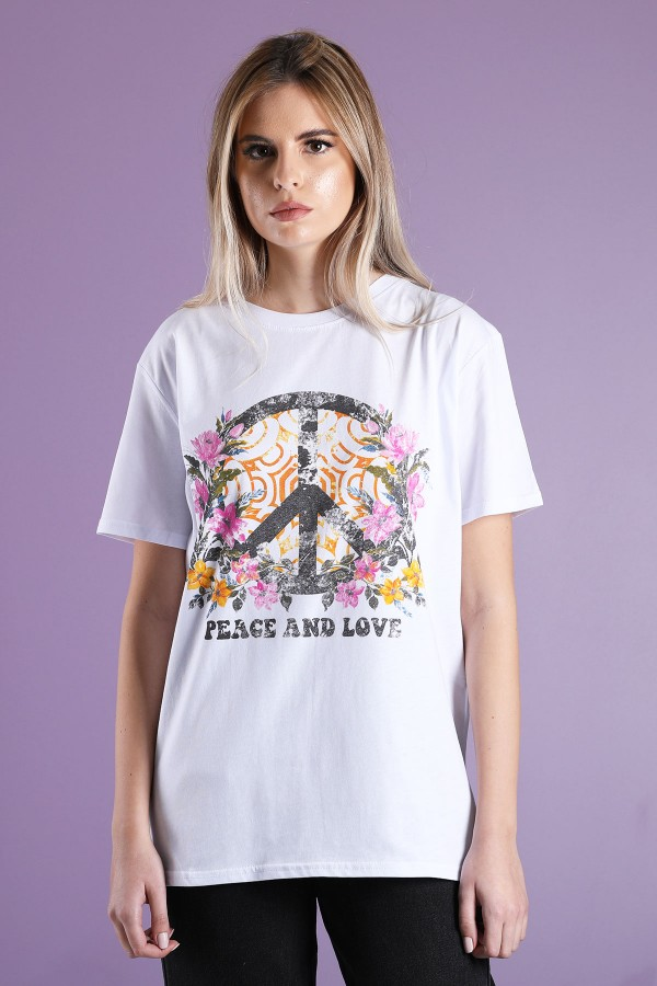 T-Shirt Peace And Love