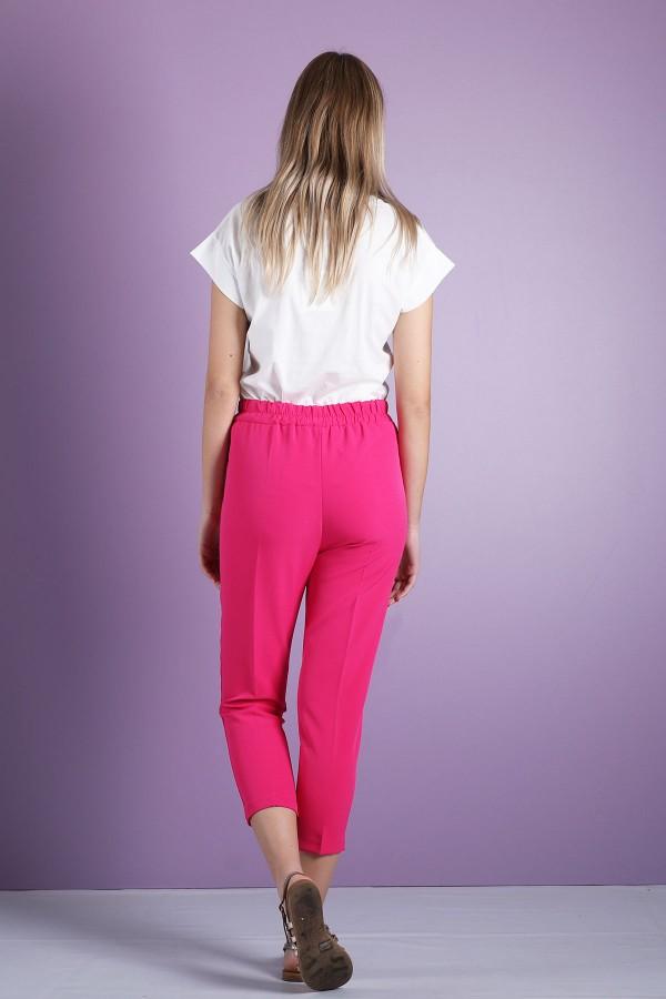 Fushia Paperbag Trouser