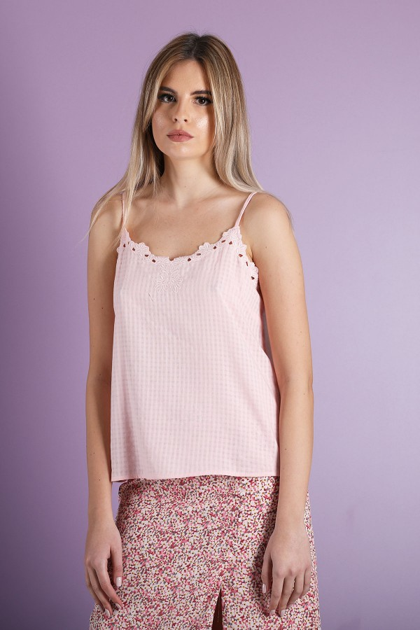 Pink Kendall Top