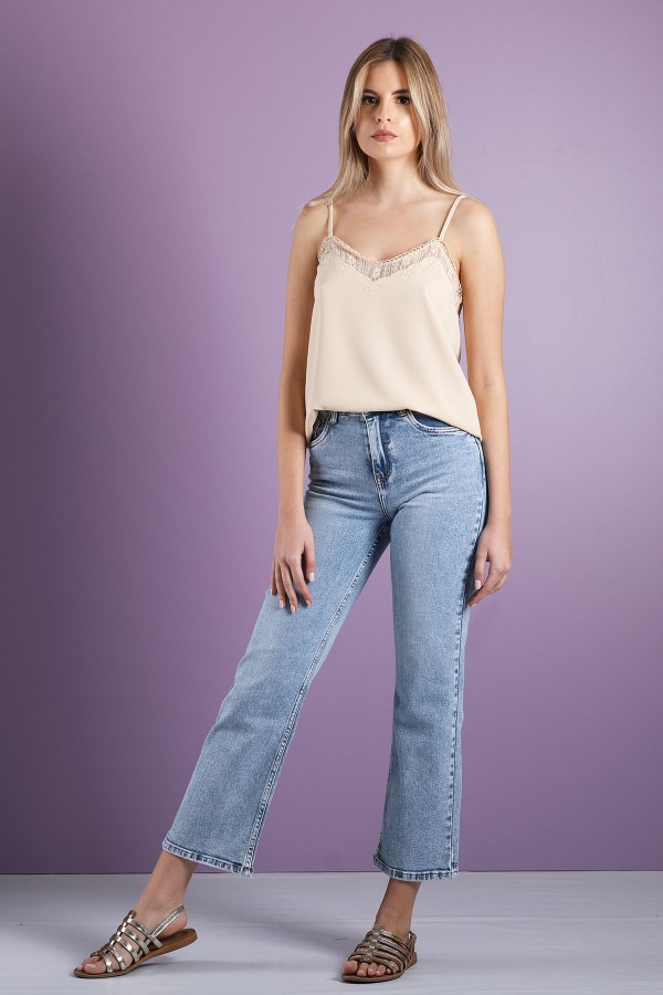 Almost Certain With A Top And Jeans